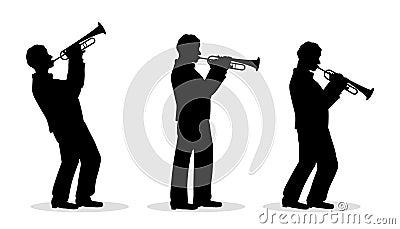 Trumpet men