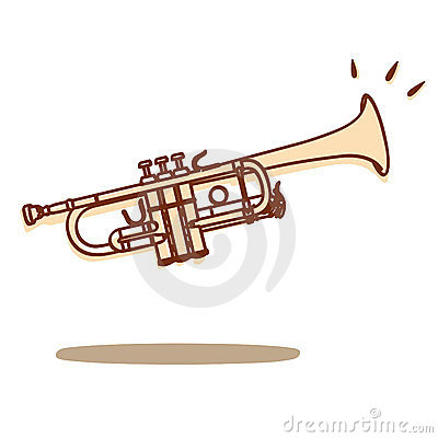 Free Trumpet Vector Royalty Free Stock Images - 23701749