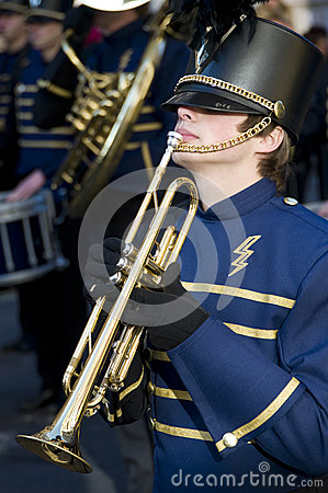 Trumpeter student Editorial Image