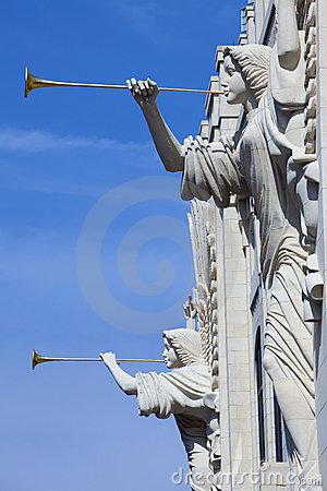 Free Trumpeting Angles (architecture Detail) Royalty Free Stock Photography - 17616647