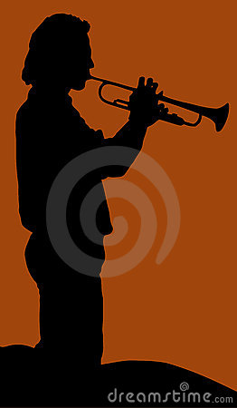 Trumpetist man