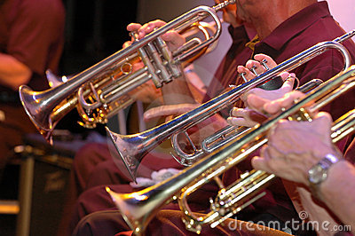 Trumpets in concert