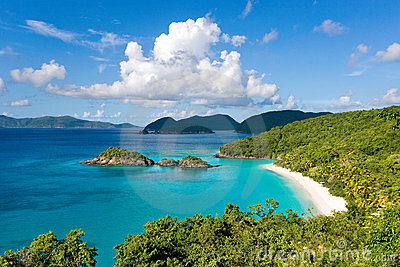 Trunk bay caribbean