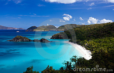 Trunk Bay on St John