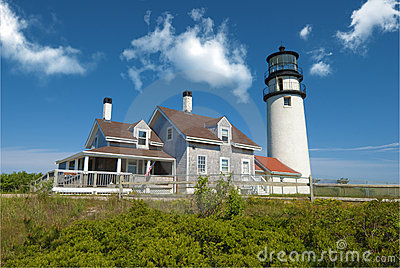 Truro lighthouse, Cape Cod, MA, USA
