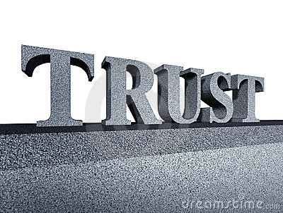 Trust honor financial business symbol integrity