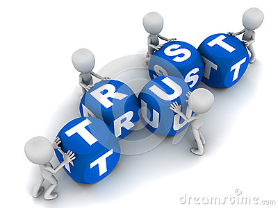 Building Trust Royalty Free Stock Photography - Image ...