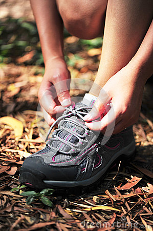 Try sport shoes in the nature