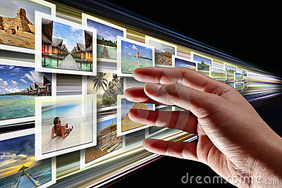 Tryckning för internetmultimedior