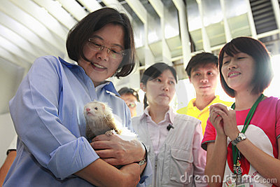 Tsai Ing-wen Editorial Photography