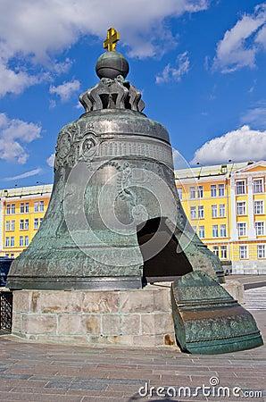 Tsar bell in Kremlin
