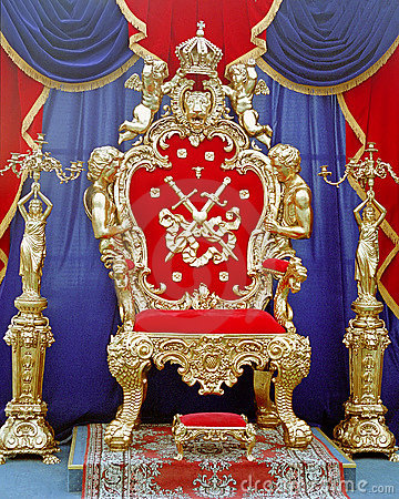 Free Tsar Throne Stock Photo - 9417700
