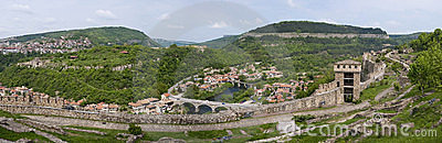 Tsarevets ,Veliko Tarnovo,Bulgaria.Panorama