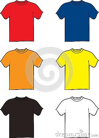 Free Tshirt Variation Royalty Free Stock Photos - 4290518