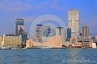 Tsim sha tsui, kowloon, hong kong Editorial Stock Image