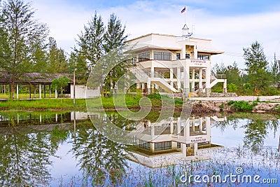 Tsunami evacuation building