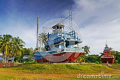 Tsunami Memorial in Baan Nam Khem