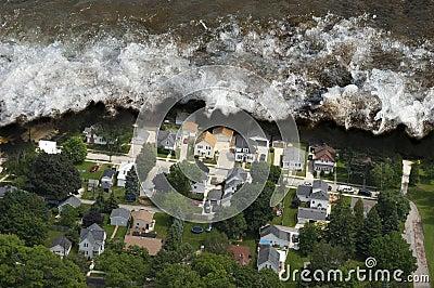 Tsunami Tidal Wave Natural Disaster