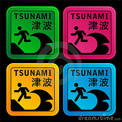 Tsunami warining signs