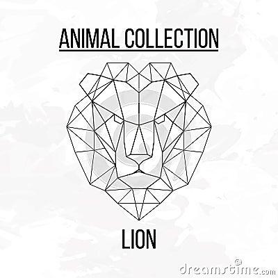 Tete De Lion Geometrique