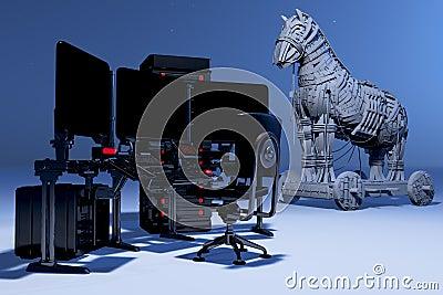 TTrojan Virus Metaphor