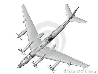 Tu-95LAL. Nuclear flying laboratory.