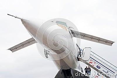 TU-144 at International Aerospace Salon MAKS-2013 Editorial Photography