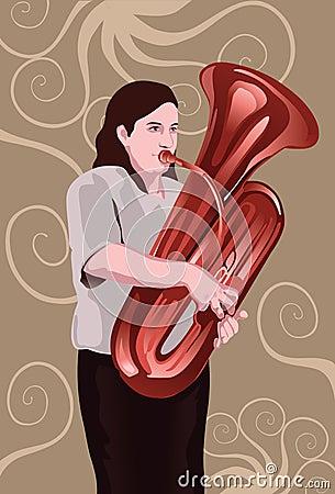 The Tuba Performer