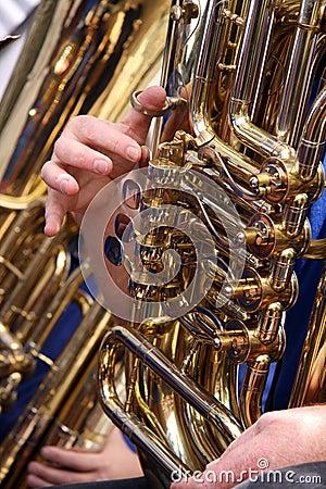 Free Tuba Player Stock Photo - 15809530