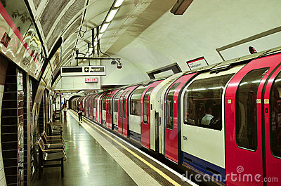 The Tube Editorial Photography