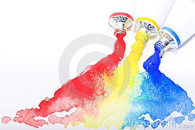[Fiche technique] Quel matériel utiliser ? (Traditionel + numérique) Tube-primaire-rouge-jaune-bleu-d-aquarelle-thumb14697221
