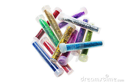 Tubes of Glitters