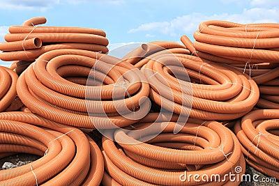 Tubi di plastica fotografia stock immagine 16289972 for Tipi di tubi di plastica