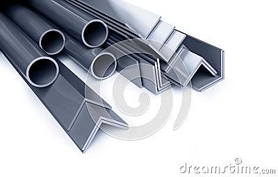 Tubi metallici angoli tipi fotografia stock libera da for Tipi di tubi