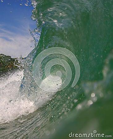 Tubing Wave in Costa Rica