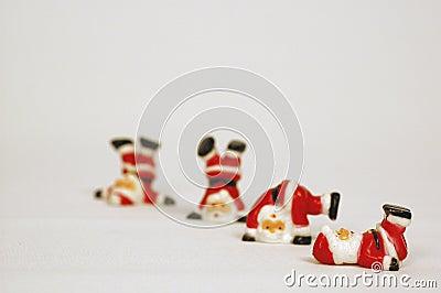 Tubling Santa