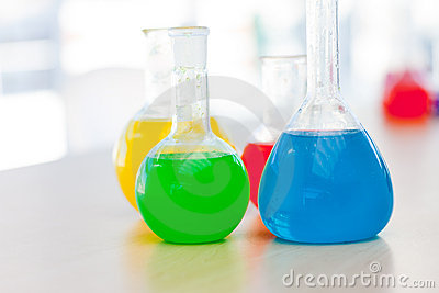 Tubo de prueba químico