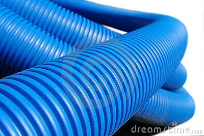 Tubo di plastica ondulato