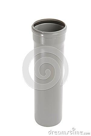Fotos de archivo gray pvc pipe imagen 2606563 - Tubos pvc blanco ...