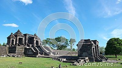 Tubo principal del palacio del boko del ratu