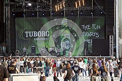 Tuborg Green Fest Editorial Photography