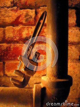 Tubulação e chave