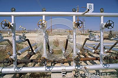 Tubulações de petróleo