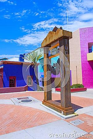 Free Tucson Adobe House Stock Photography - 43915802
