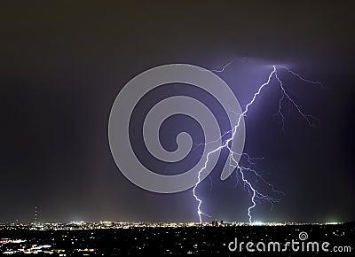 Tucson Forked Lightning