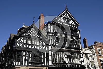 Tudor Black and White Building