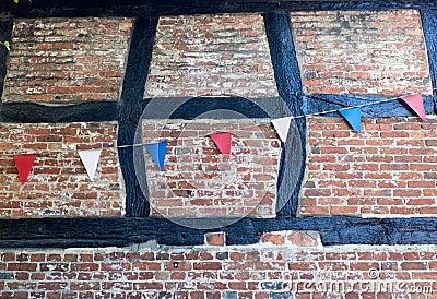 Tudor Brick & Bunting