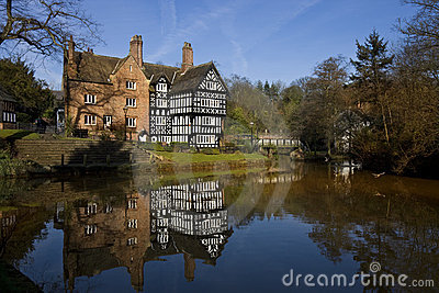 Tudor Building - Bridgewater Canal - England Editorial Image