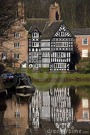Tudor Building - England Editorial Stock Image