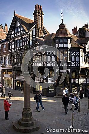 Free Tudor Buildings - Chester - England Stock Photography - 20110462